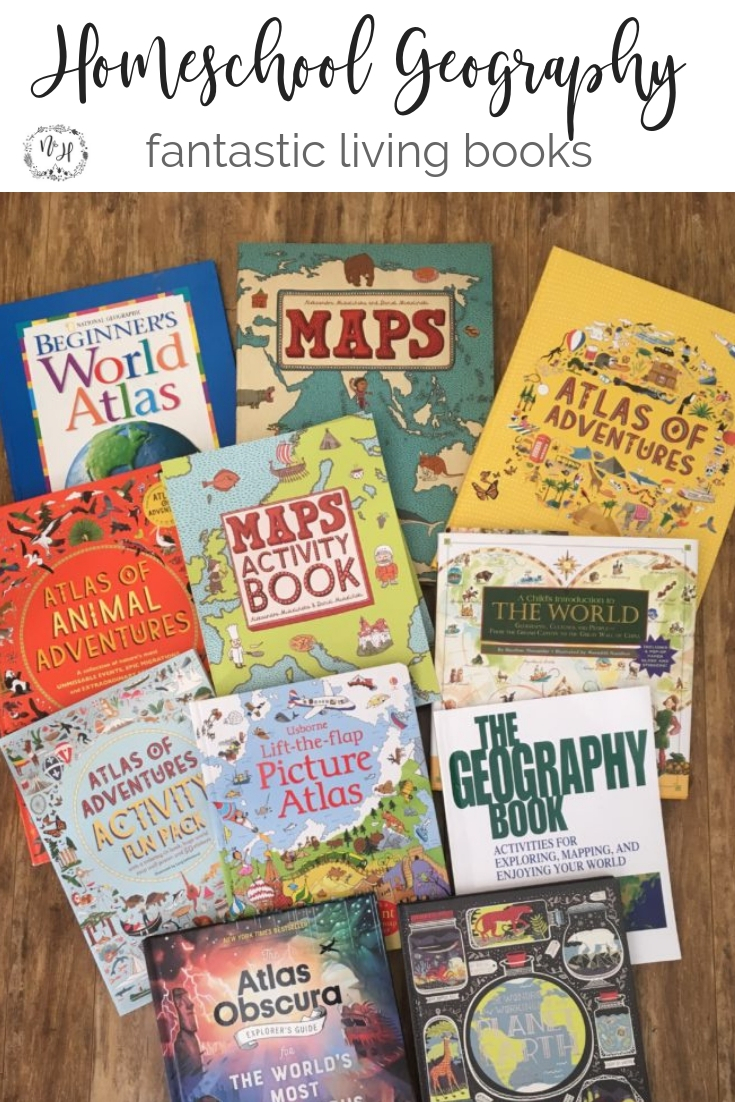 Fantastic list of books for homeschool geography